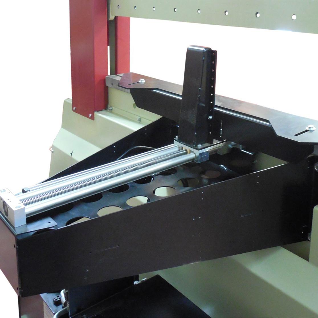manual backgauge
